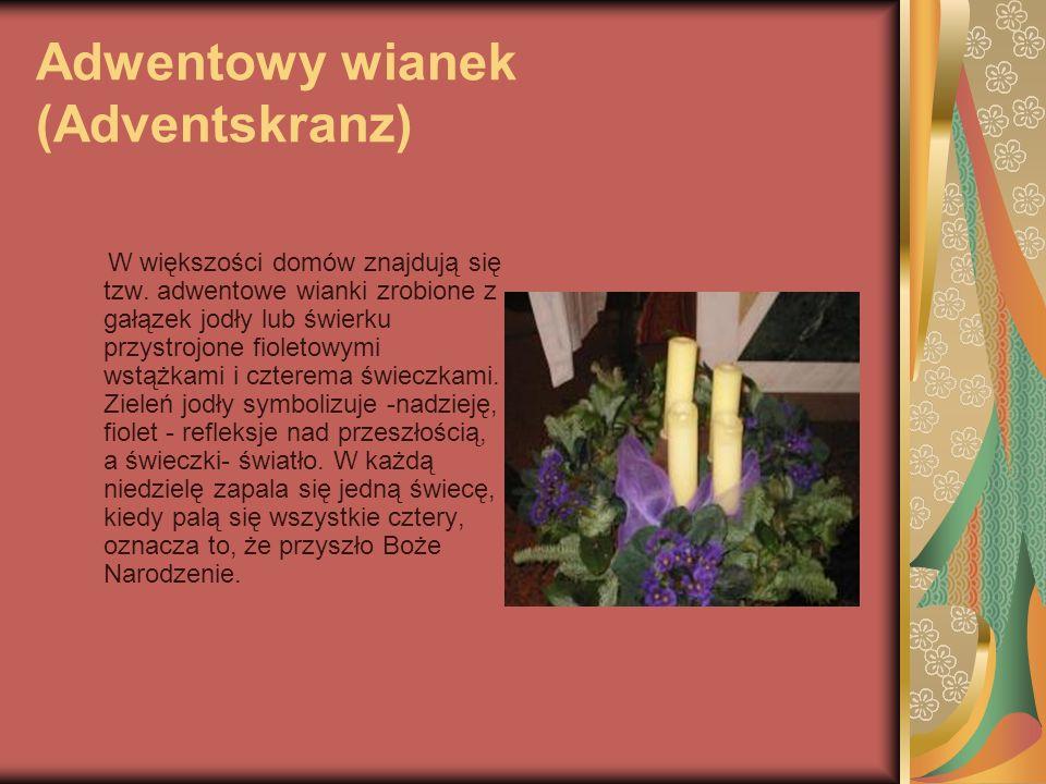Adwentowy wianek (Adventskranz)