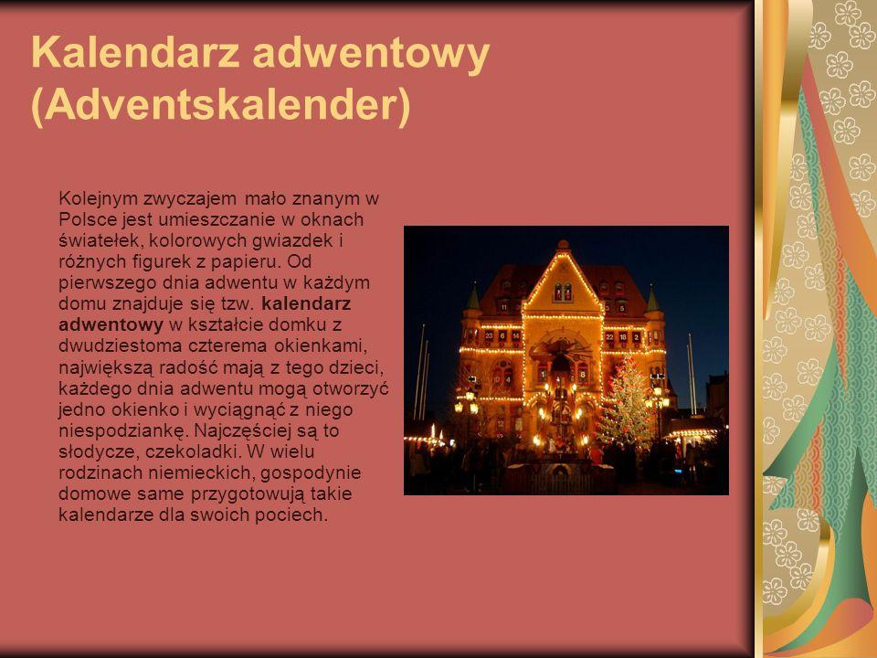 Kalendarz adwentowy (Adventskalender)