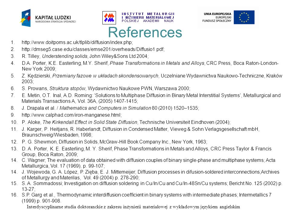 References http://www.doitpoms.ac.uk/tlplib/diffusion/index.php;