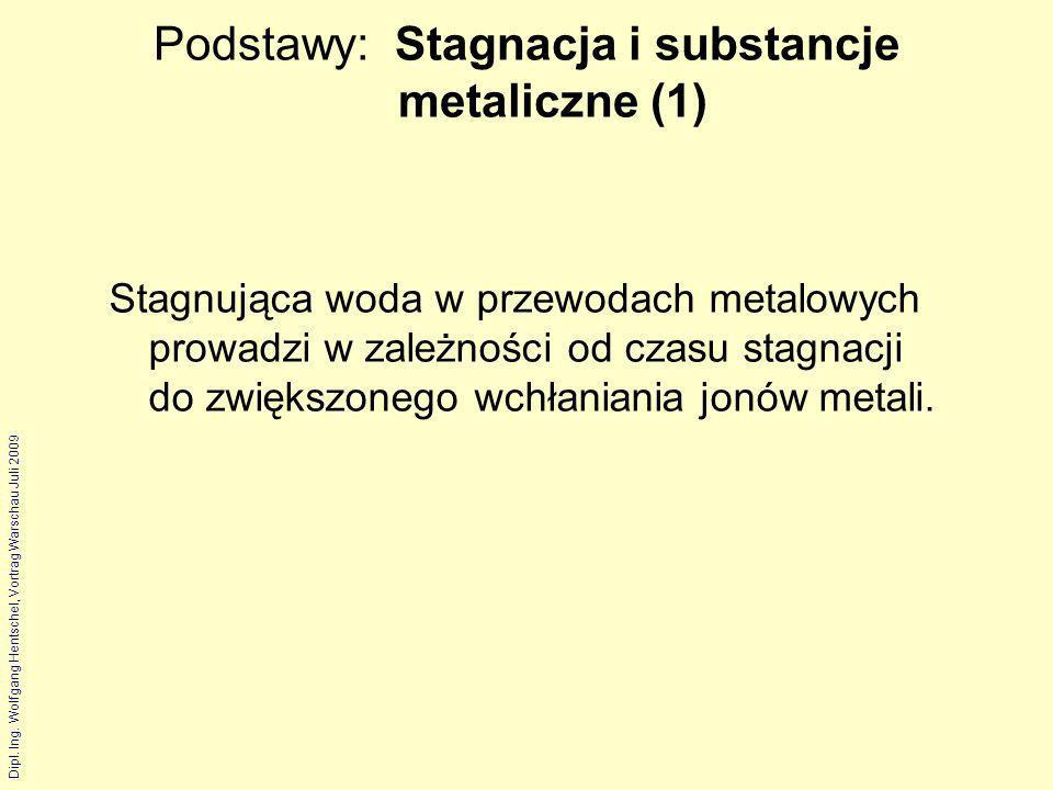 Podstawy: Stagnacja i substancje metaliczne (1)