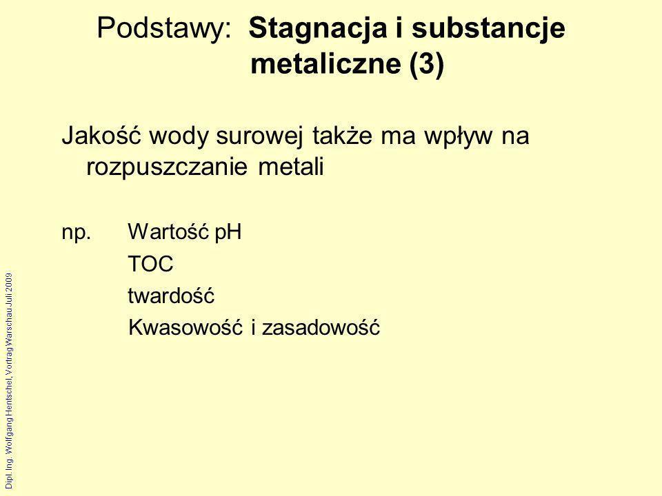 Podstawy: Stagnacja i substancje metaliczne (3)