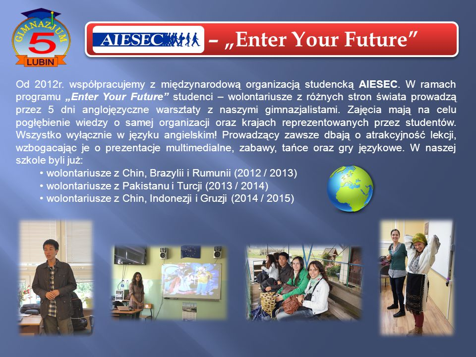 "AIESEC – ""Enter Your Future"