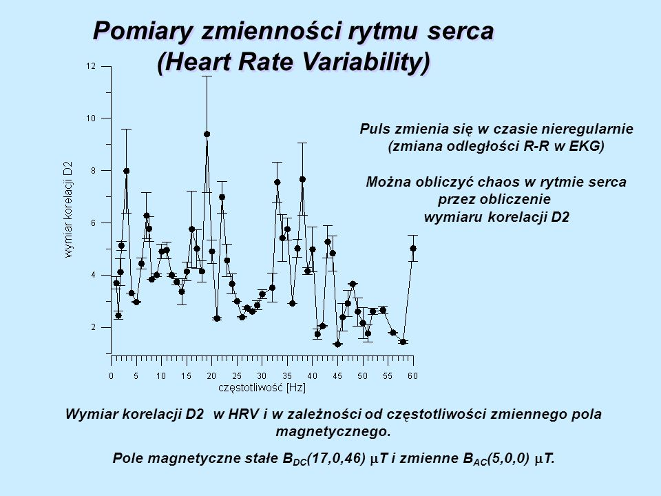 Pomiary zmienności rytmu serca (Heart Rate Variability)