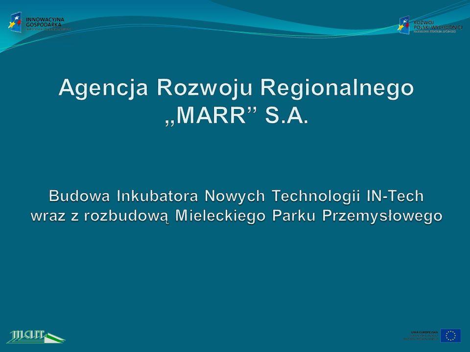 """Agencja Rozwoju Regionalnego """"MARR S. A"""