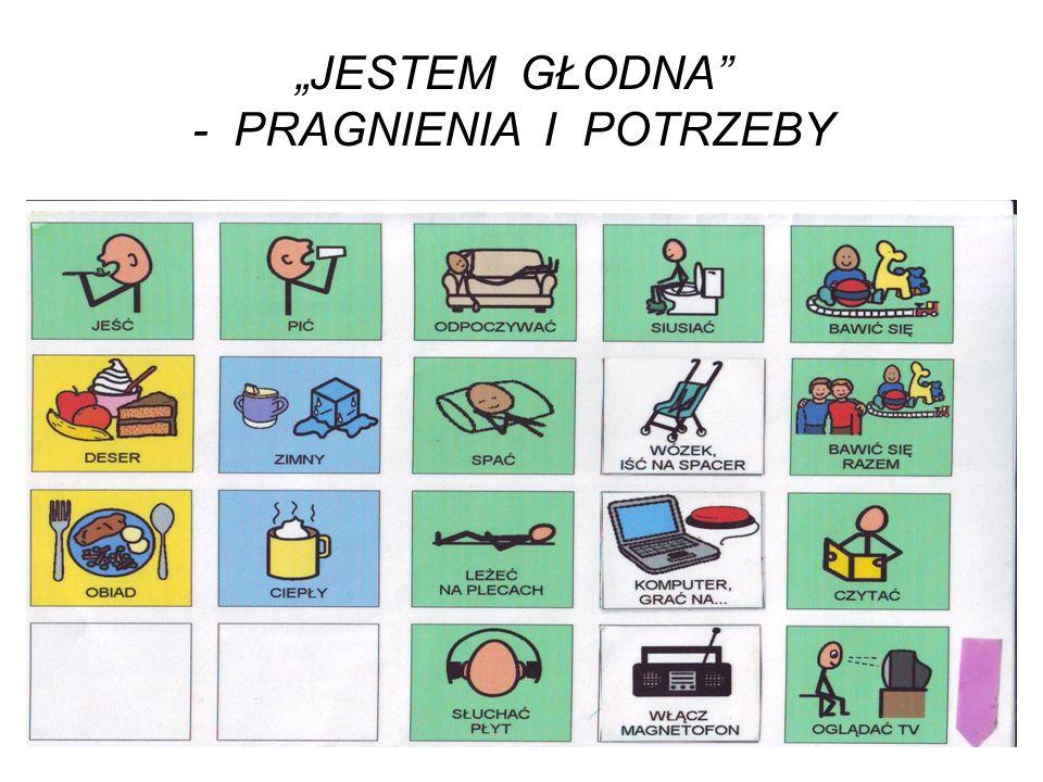 """""""JESTEM GŁODNA - PRAGNIENIA I POTRZEBY"""