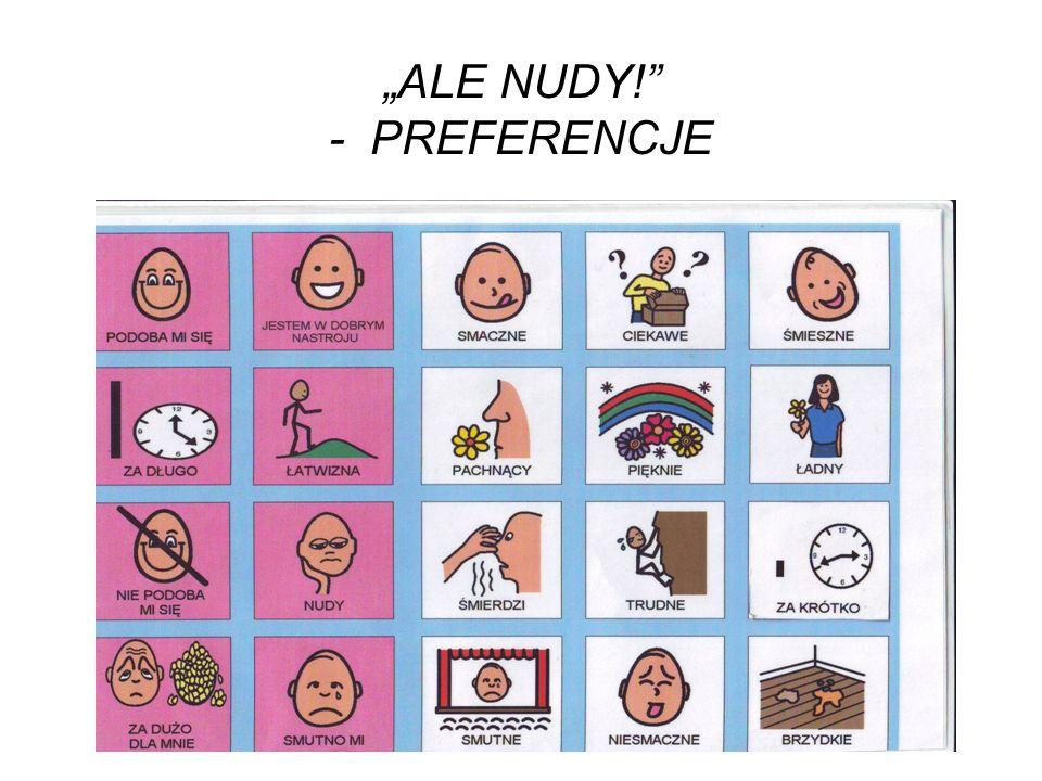 """ALE NUDY! - PREFERENCJE"