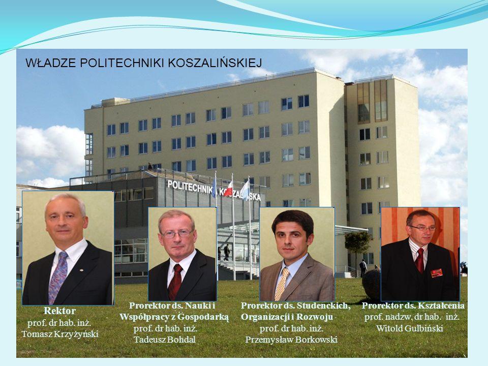 Rektor prof. dr hab. inż. Tomasz Krzyżyński
