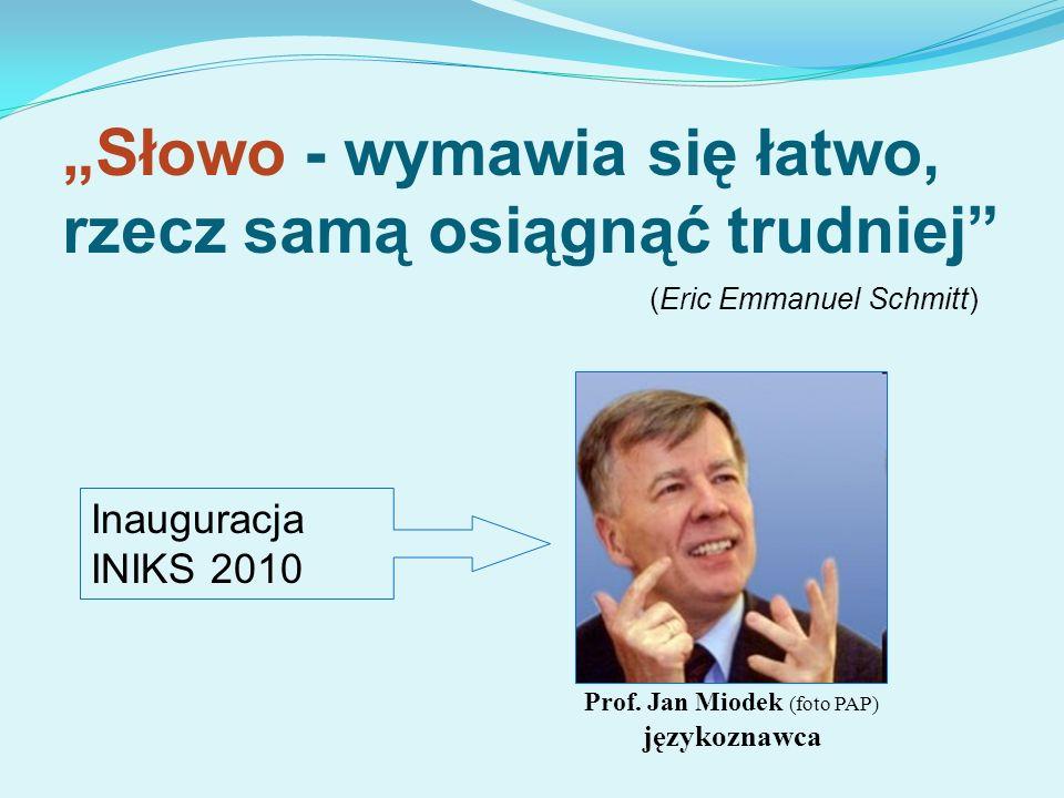 Prof. Jan Miodek (foto PAP) językoznawca
