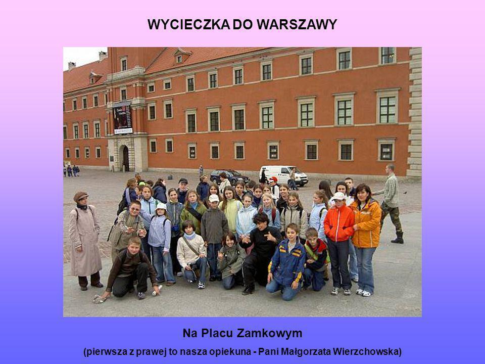 (pierwsza z prawej to nasza opiekuna - Pani Małgorzata Wierzchowska)