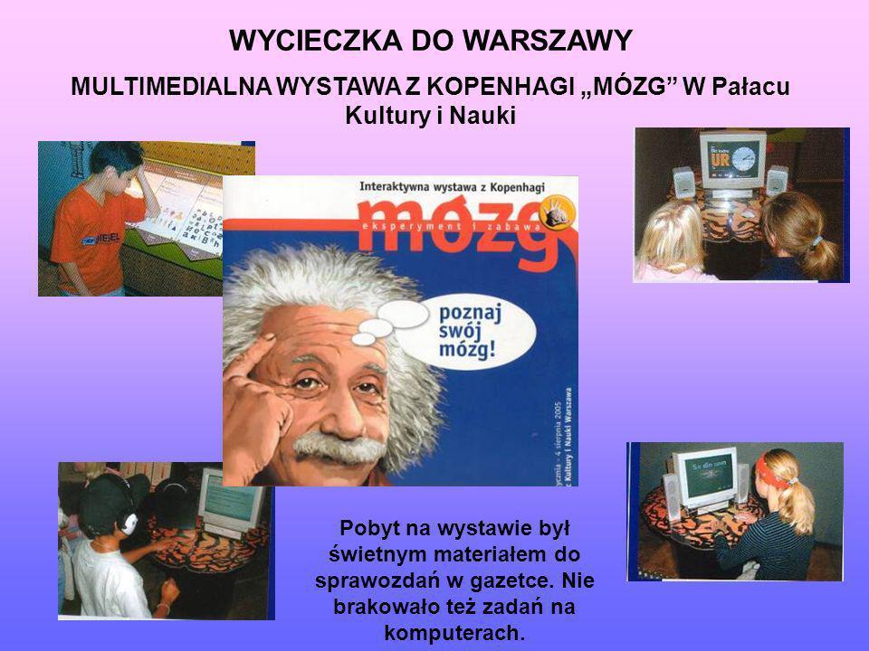 """MULTIMEDIALNA WYSTAWA Z KOPENHAGI """"MÓZG W Pałacu Kultury i Nauki"""