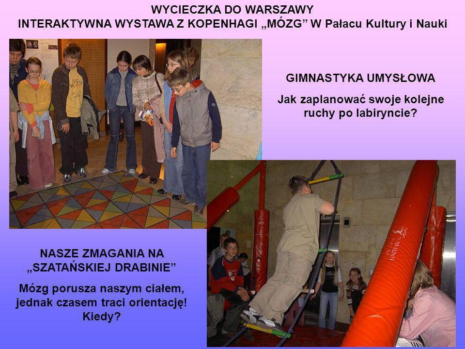 """INTERAKTYWNA WYSTAWA Z KOPENHAGI """"MÓZG W Pałacu Kultury i Nauki"""