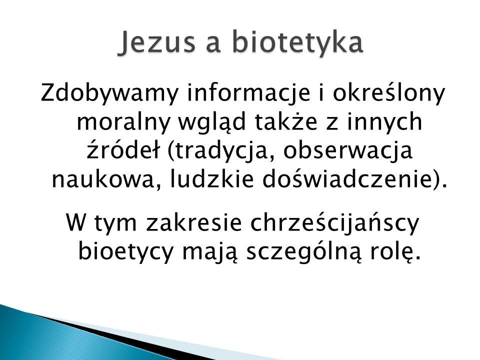 Jezus a biotetyka
