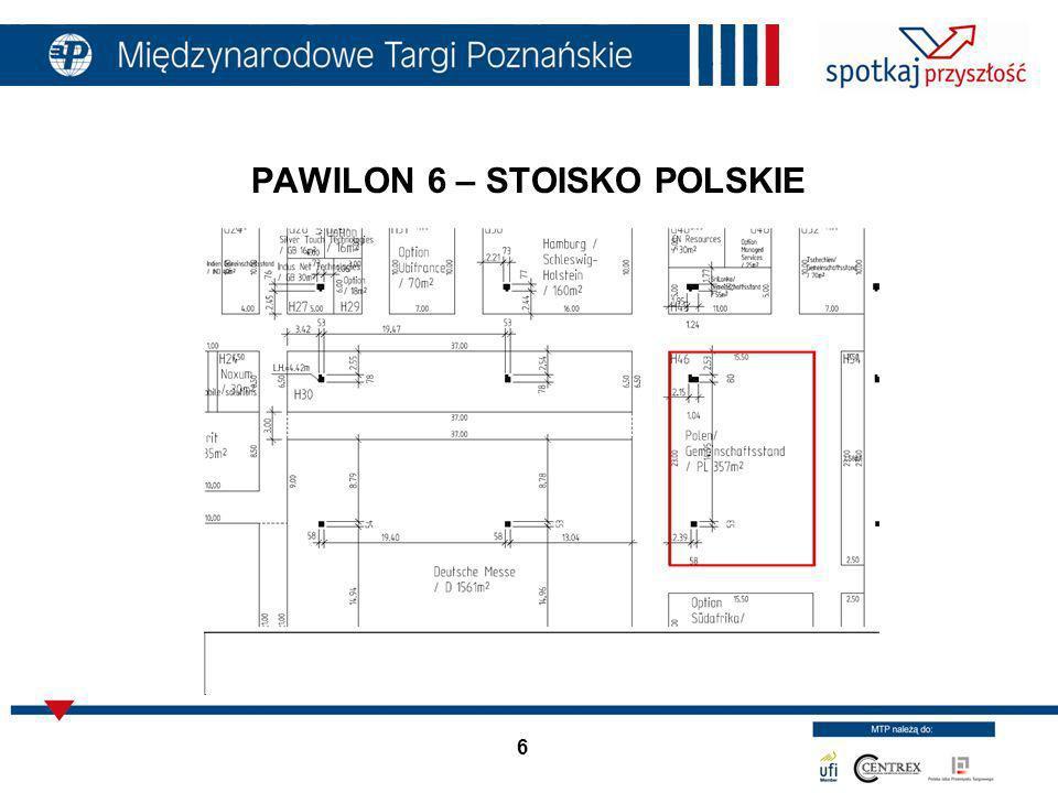 PAWILON 6 – STOISKO POLSKIE