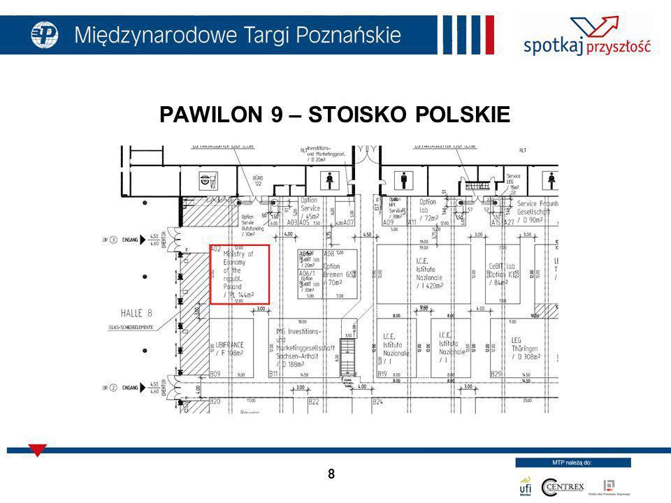 PAWILON 9 – STOISKO POLSKIE