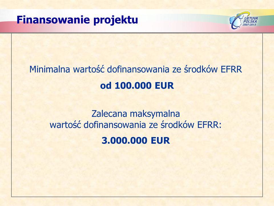 Finansowanie projektu