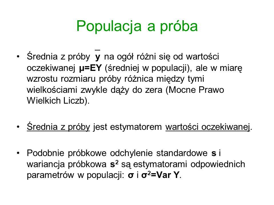 Populacja a próba
