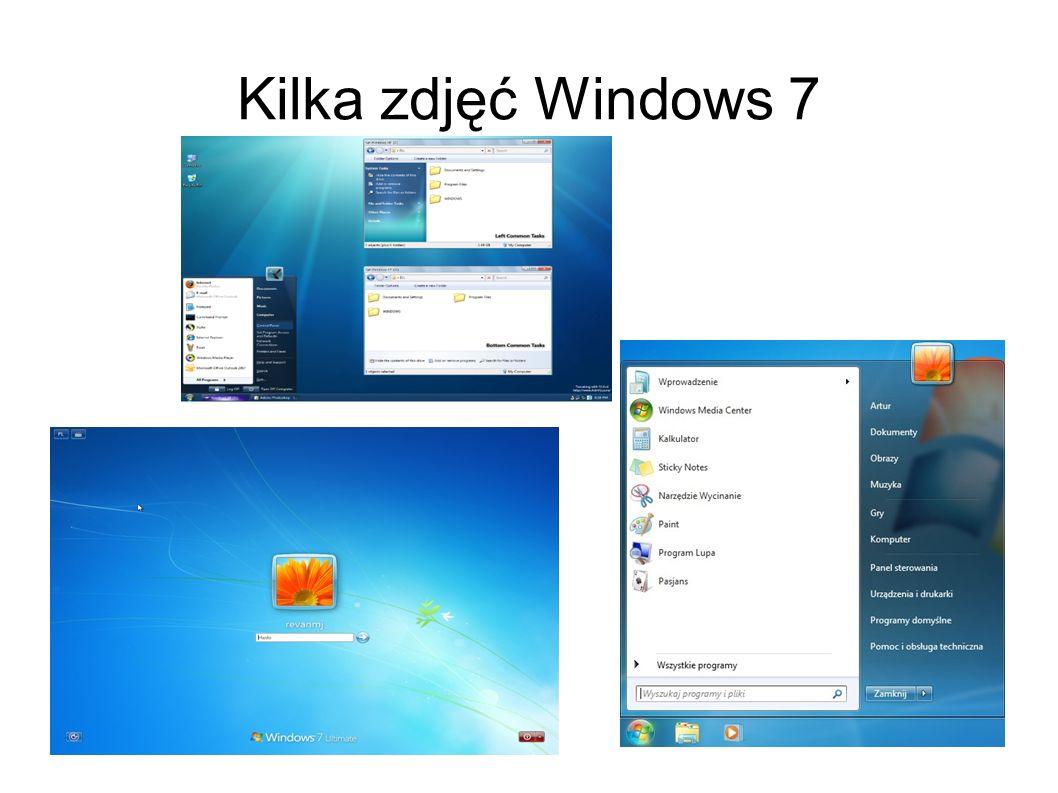 Kilka zdjęć Windows 7