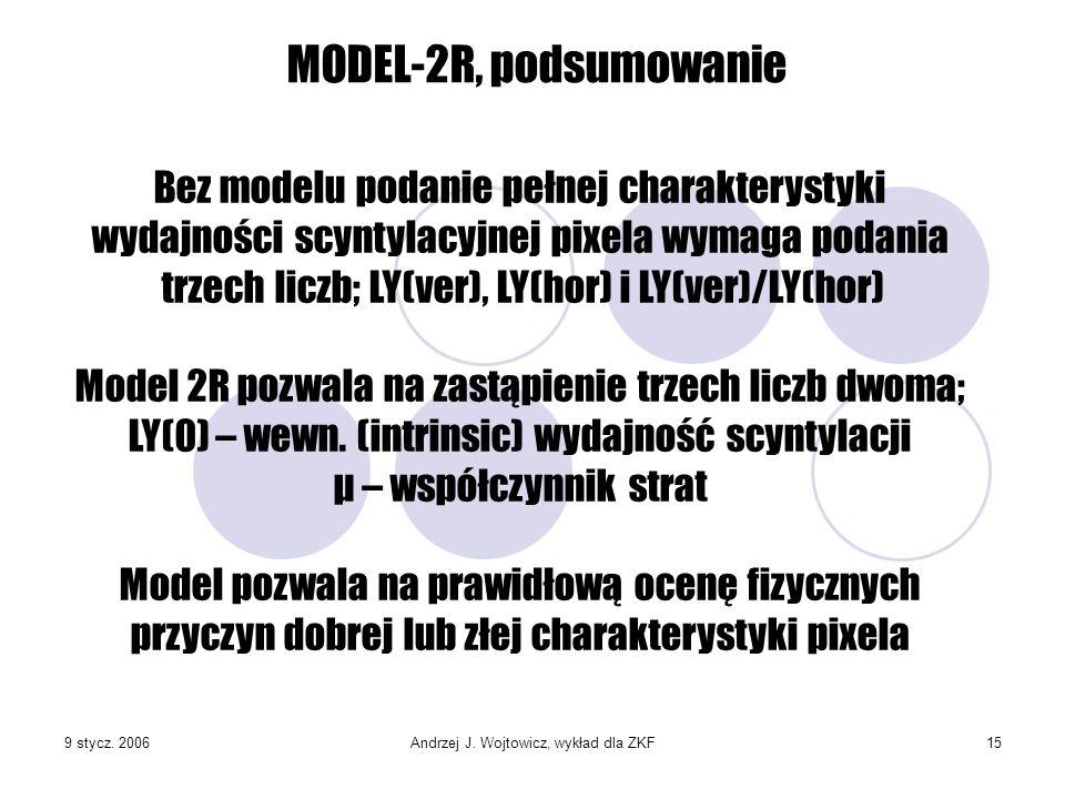 Andrzej J. Wojtowicz, wykład dla ZKF