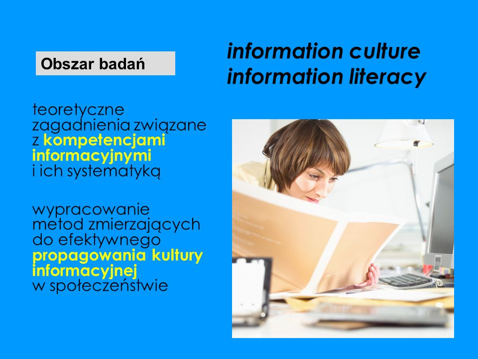 information culture information literacy
