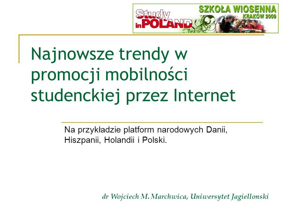 Najnowsze trendy w promocji mobilności studenckiej przez Internet