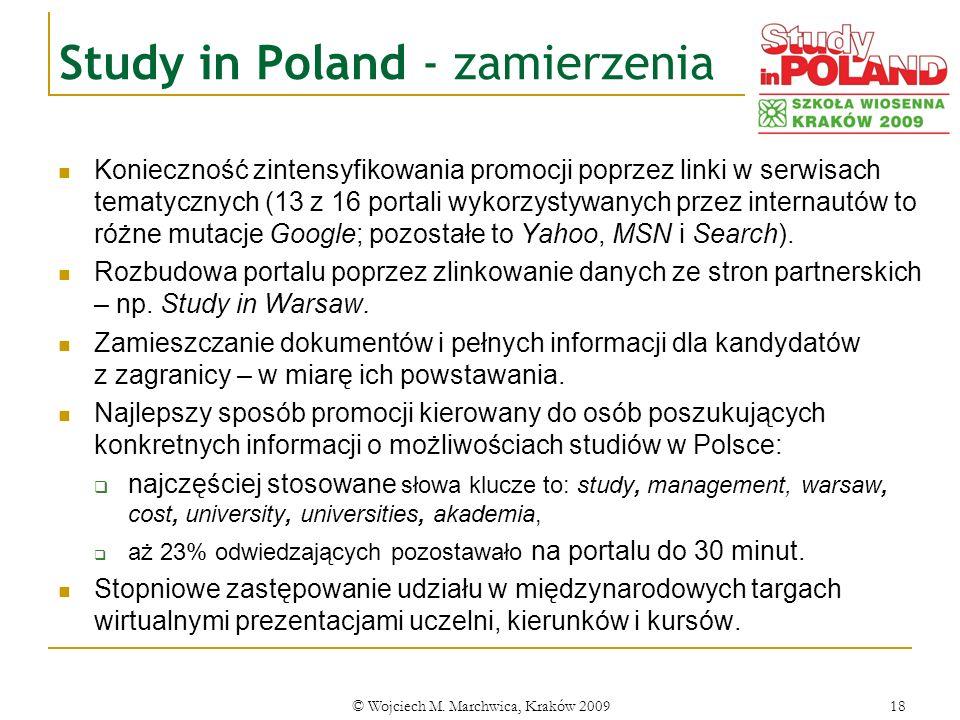 Study in Poland - zamierzenia