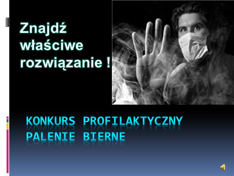 Konkurs profilaktyczny palenie bierne