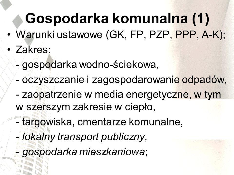 Gospodarka komunalna (1)