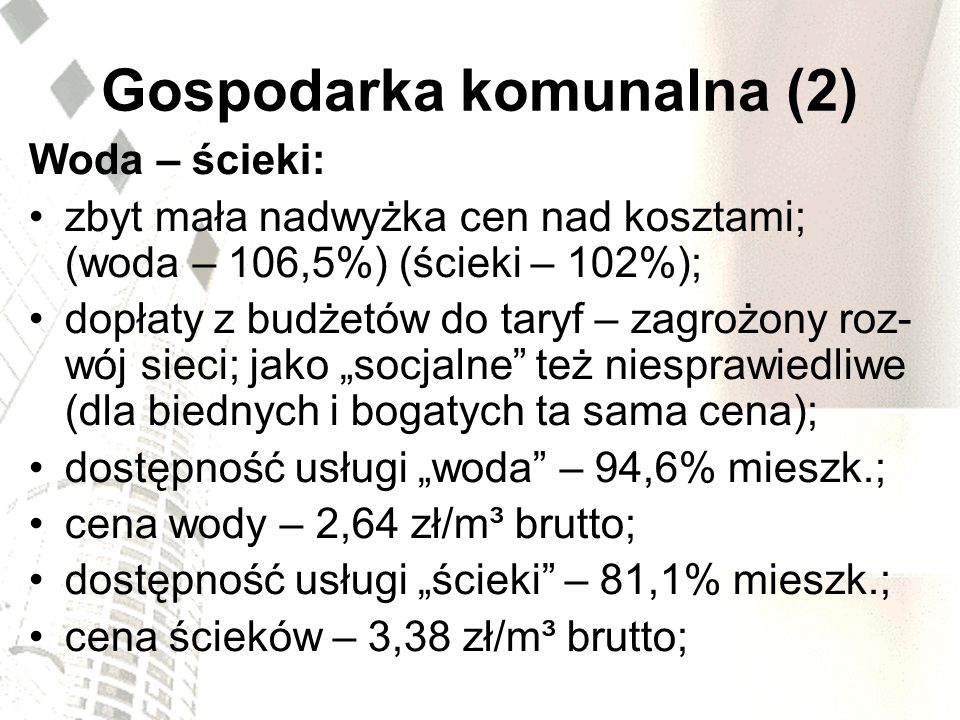 Gospodarka komunalna (2)