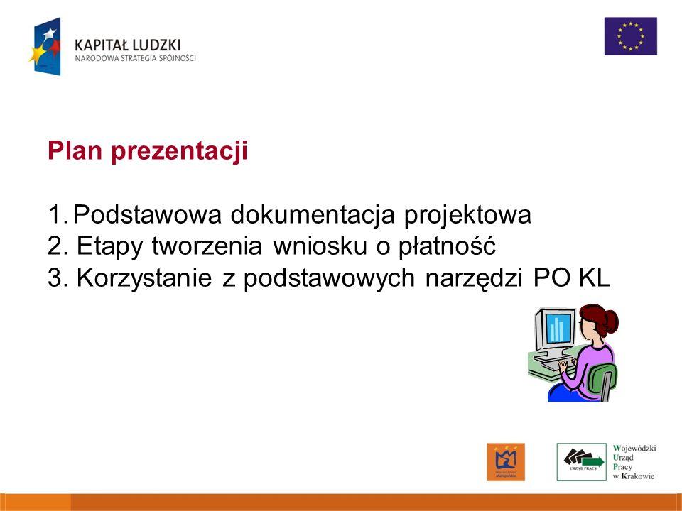 Plan prezentacji Podstawowa dokumentacja projektowa.