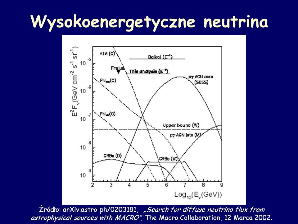 Wysokoenergetyczne neutrina