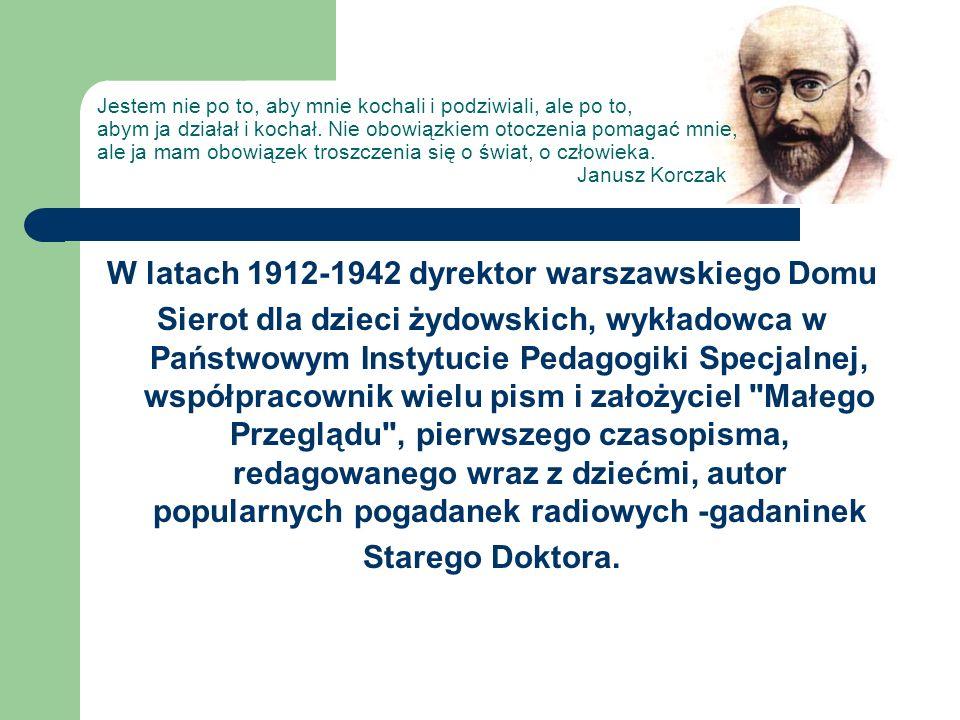 W latach 1912-1942 dyrektor warszawskiego Domu