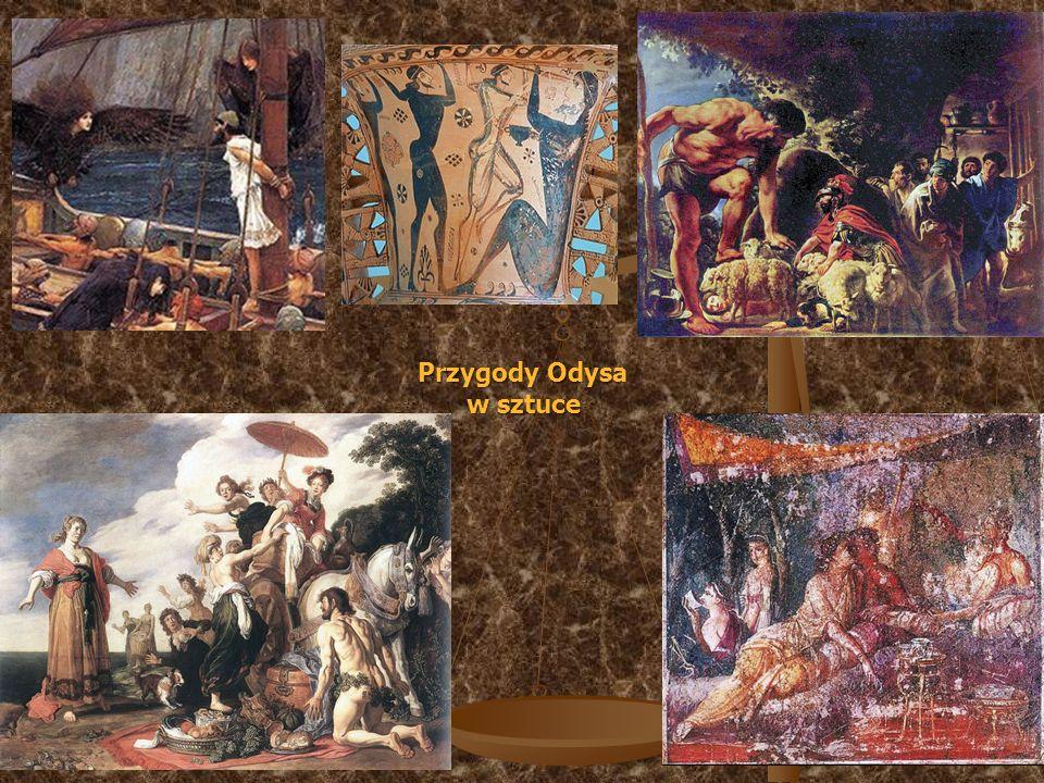 Przygody Odysa w sztuce
