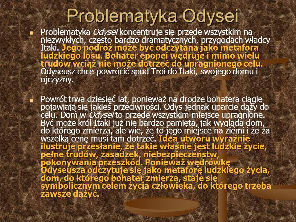 Problematyka Odysei