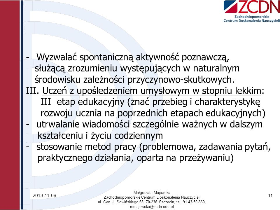 Zachodniopomorskie Centrum Doskonalenia Nauczycieli