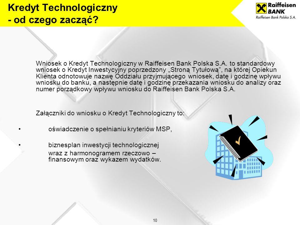 Kredyt Technologiczny - od czego zacząć