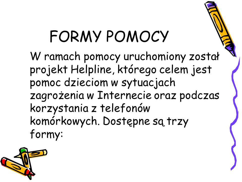 FORMY POMOCY