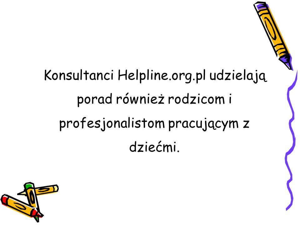 Konsultanci Helpline. org