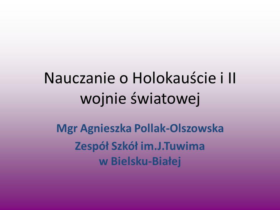 Nauczanie o Holokauście i II wojnie światowej