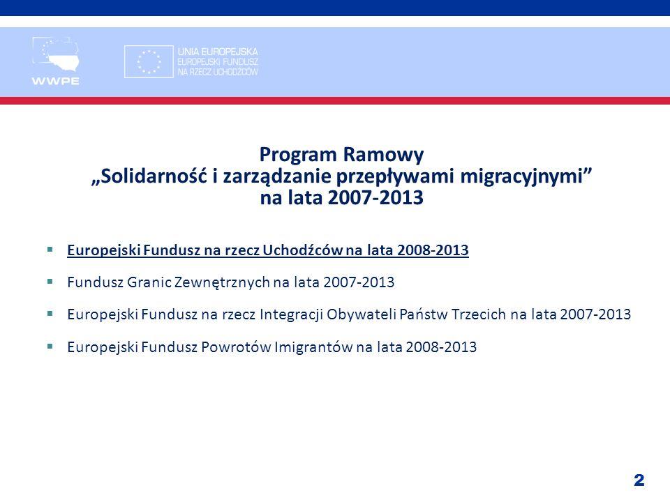 """""""Solidarność i zarządzanie przepływami migracyjnymi"""