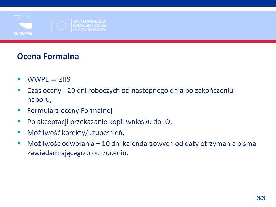 Ocena Formalna WWPE ZIIS