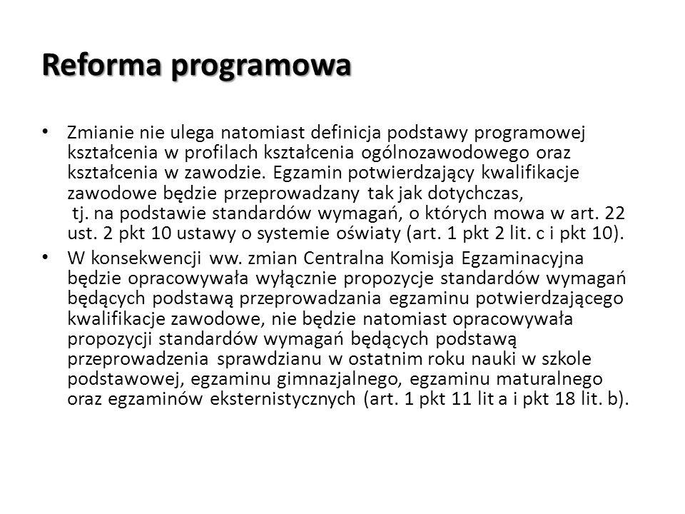Reforma programowa