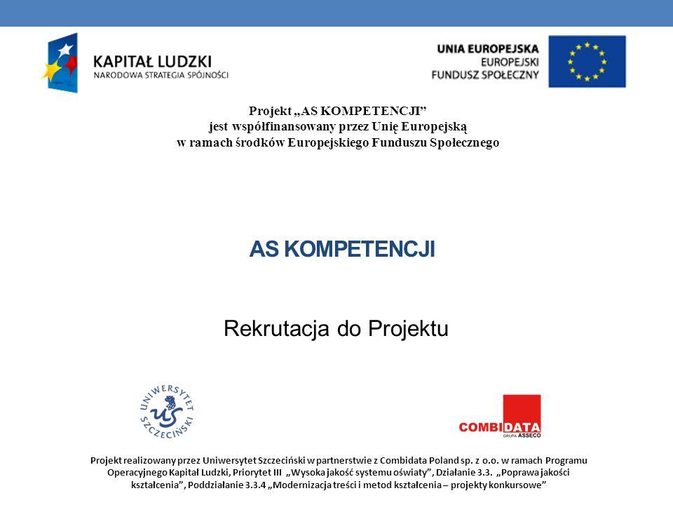 Rekrutacja do Projektu