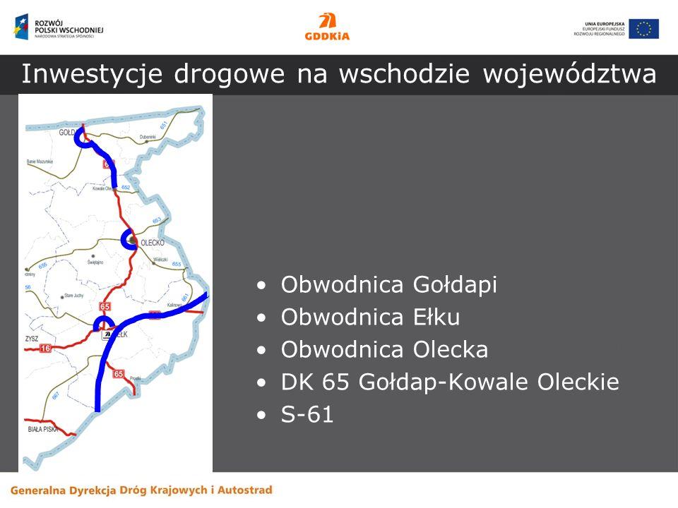 Inwestycje drogowe na wschodzie województwa