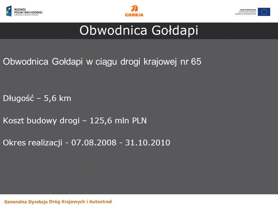 Obwodnica Gołdapi Obwodnica Gołdapi w ciągu drogi krajowej nr 65