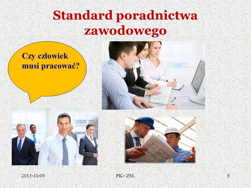 Standard poradnictwa zawodowego