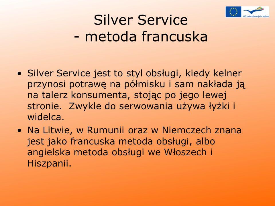 Silver Service - metoda francuska