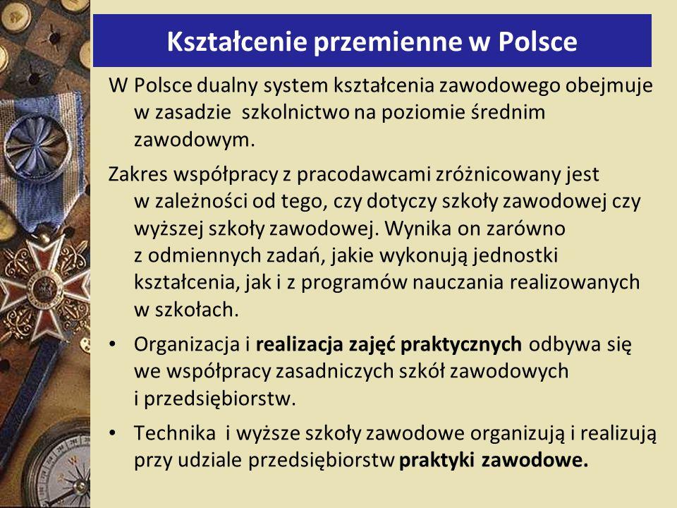 Kształcenie przemienne w Polsce