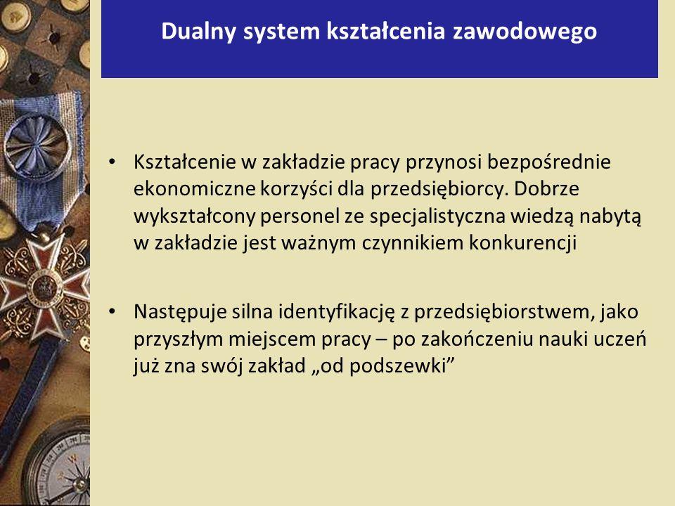 Dualny system kształcenia zawodowego