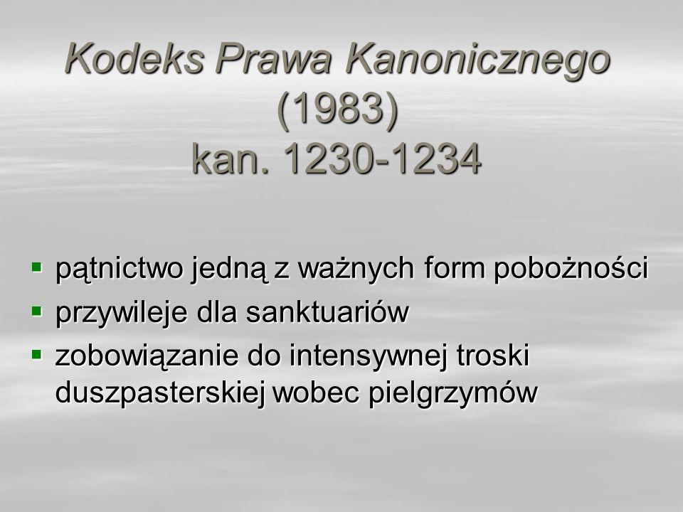 Kodeks Prawa Kanonicznego (1983) kan. 1230-1234