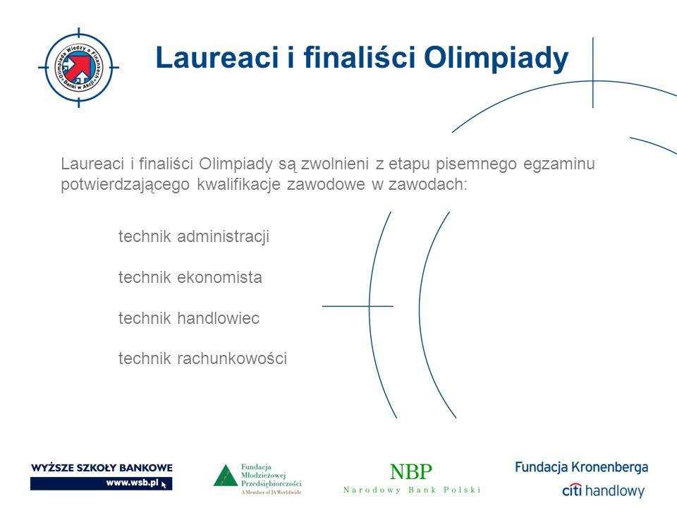 Laureaci i finaliści Olimpiady